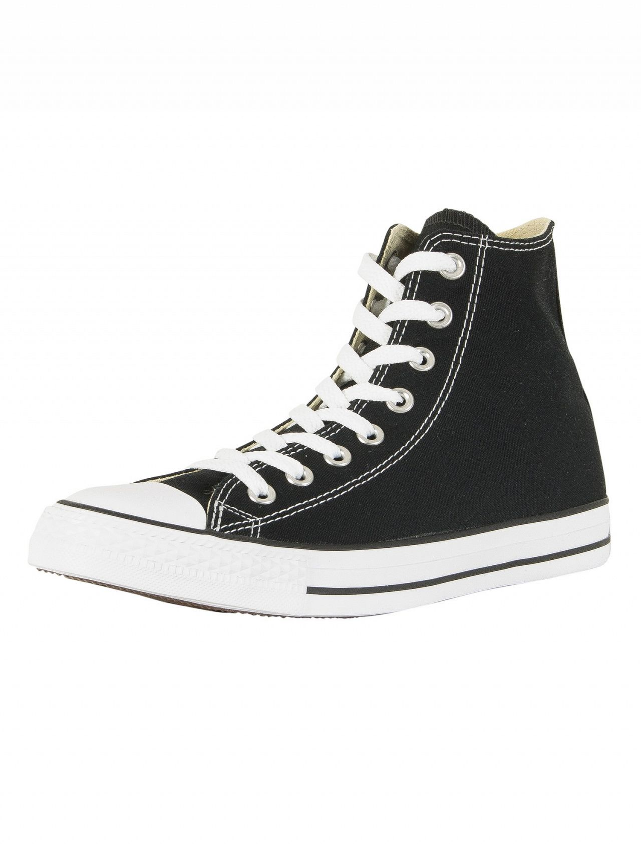 0f7da02f4e6b Converse Black All Star Hi Trainers