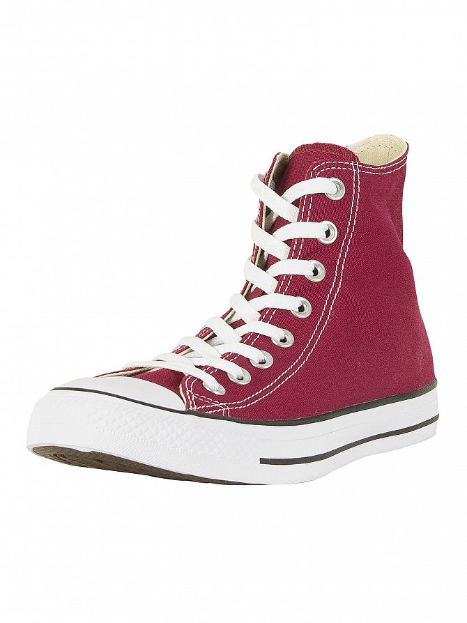 Converse Maroon All Star Hi Trainers