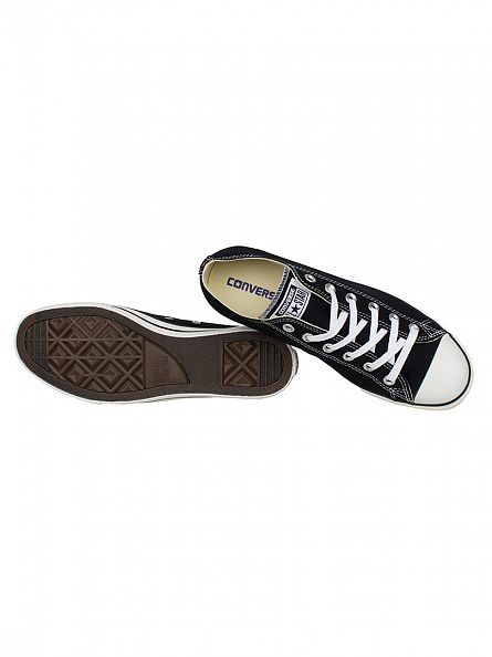 Converse Black Chuck Taylor Lean Ox Trainers