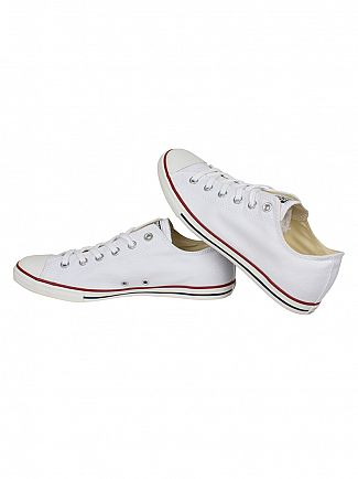 Converse White Chuck Taylor Lean Ox Trainers