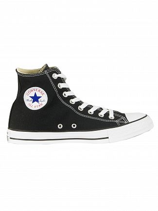 Converse Black All Star Hi Trainers