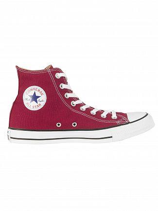 Converse Maroon All Star Hi Trainers