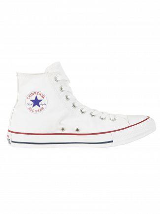 Converse Optical White All Star Hi Trainers