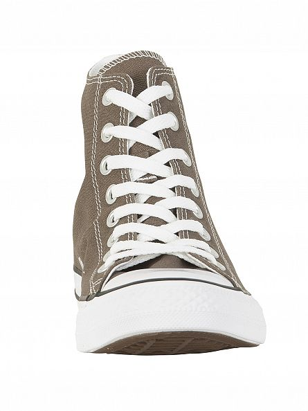 Converse Charcoal All Star Seasonal Hi Trainers