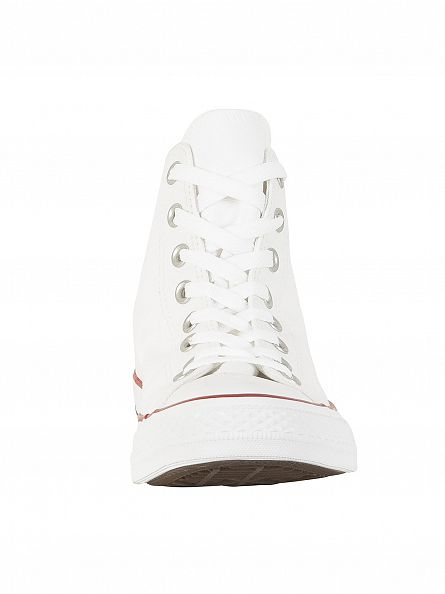 Converse Optical White All Star Hi Trainers