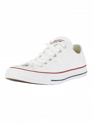 Converse Optical White All Star Ox Trainers