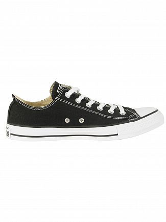 Converse Black All Star Ox Trainers