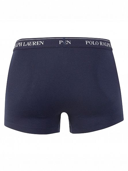 Polo Ralph Lauren Dark Navy/Navy/Blue 3 Pack Trunks