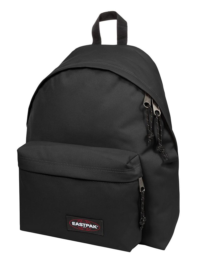 Eastpak Padded Pak R Backpack Black: Eastpak Black Padded Pak R Rucksack Bag