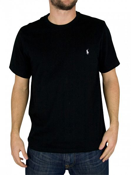 Polo Ralph Lauren Black Logo Crew Neck T-Shirt