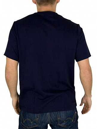Polo Ralph Lauren Cruise Navy Logo Crew Neck T-Shirt