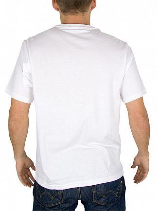 Polo Ralph Lauren White Logo Crew Neck T-Shirt
