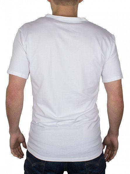 Calvin Klein White 2 Pack V-Neck T-Shirts