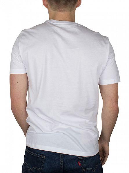 Polo Ralph Lauren White 2 Pack V-Neck T-Shirts