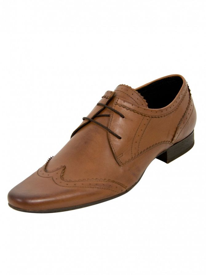 H by Hudson New Dye Tan Ellington Shoes