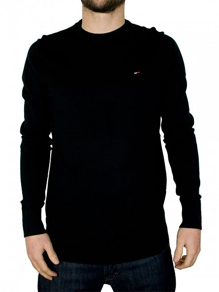 Tommy Hilfiger Denim Tommy Black Tamber Knit