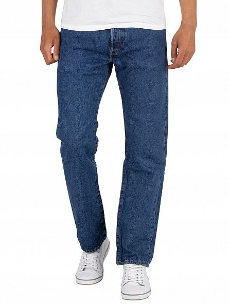 Levi's Stonewash 501 Original Fit Denim Jeans