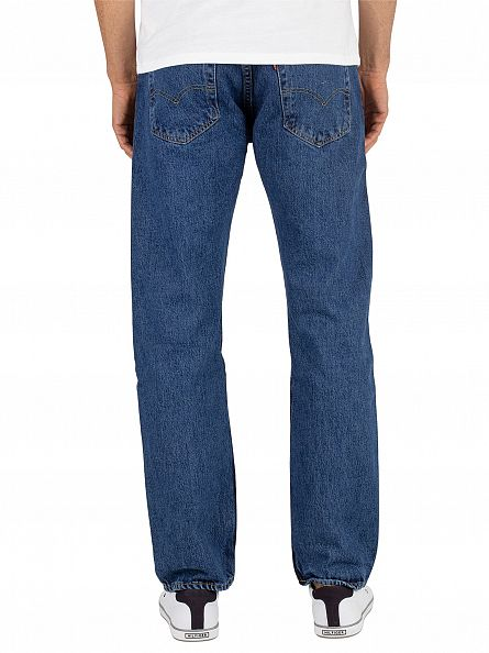 Levi's Stonewash 501 Original Fit Denim Jeans