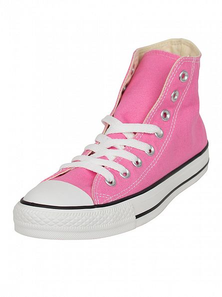 Converse Pink All Star Hi Trainers