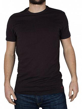 Levi's Black 2 Pack Crew T-Shirts