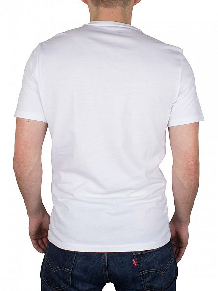 Levi's White 2 Pack Crew T-Shirts