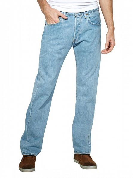 Levi's Light Broken 501 Original Fit Jeans