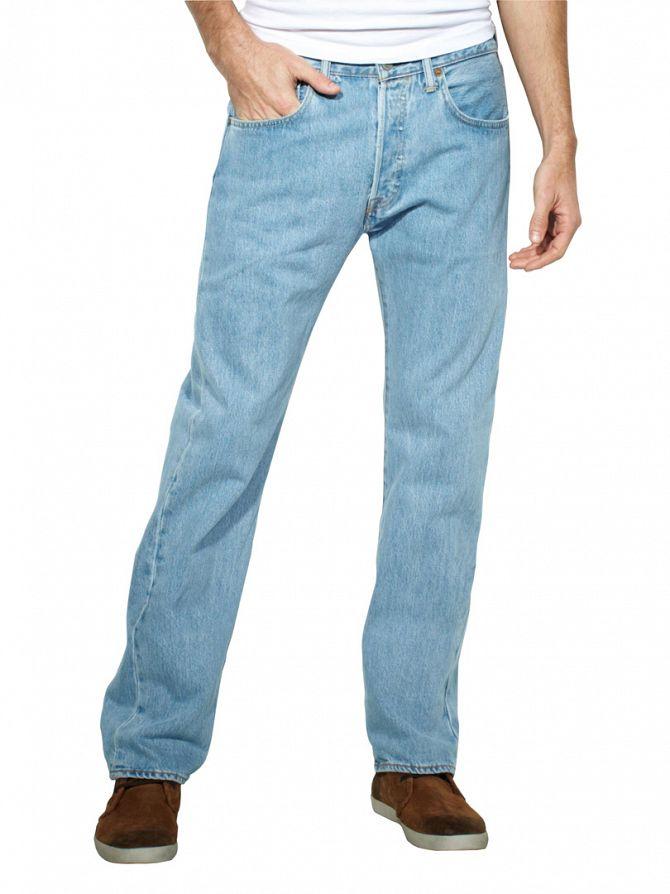 Levi's Light Broken 501 Original Fit Jeans