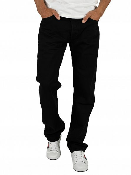 Levi's Black 501 Original Fit Jeans