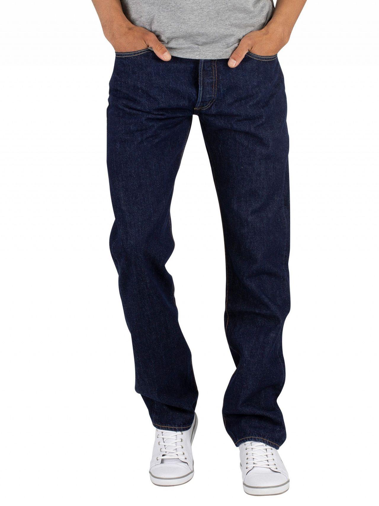 00900747 Levi's Onewash 501 Original Fit Jeans | Standout