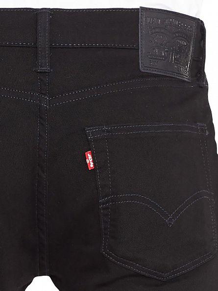 Levi's Moonshine Black 511 Slim Fit Jeans