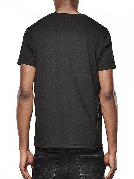 G-Star Black 2 Pack V Neck T-Shirts