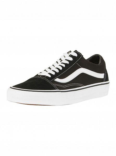 Vans Black/White Old Skool Trainers