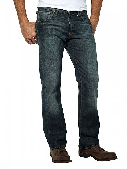 Levi's Dusty Black 527 Bootcut Jeans