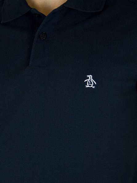 Original Penguin Dark Sapphire Slim Fit Daddy Polo Shirt