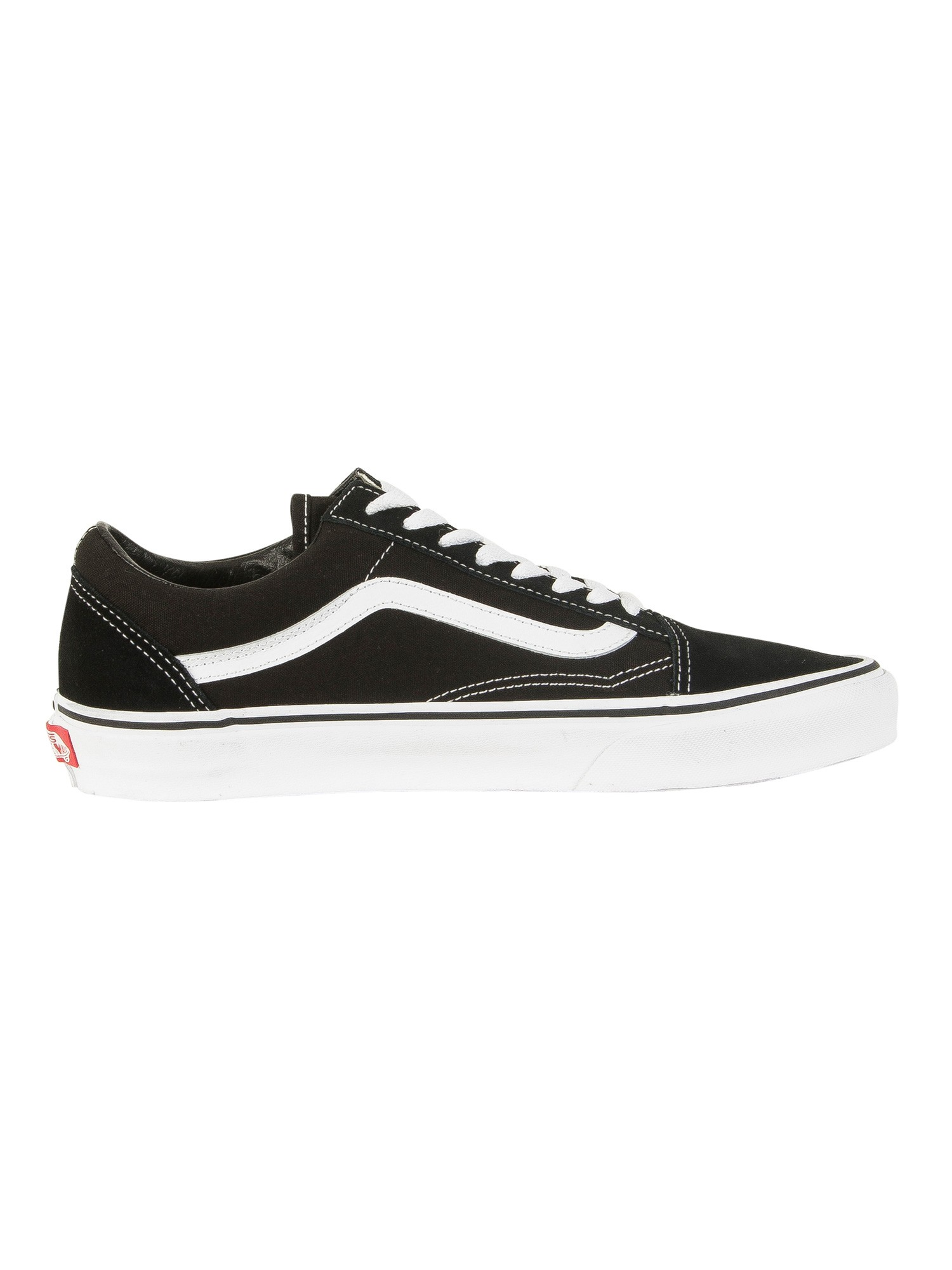 Vans Black/White Old Skool Trainers