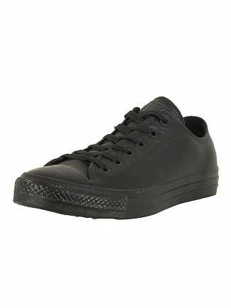 Converse Black Mono CT All Star Ox Trainers