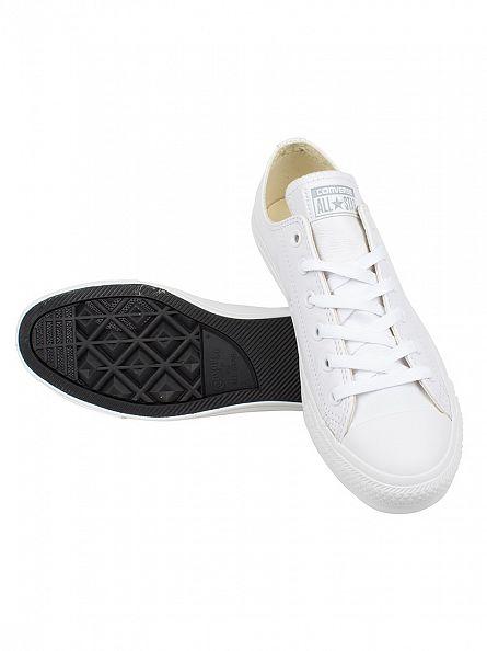 Converse White Mono/Black CT All Star Ox Trainers