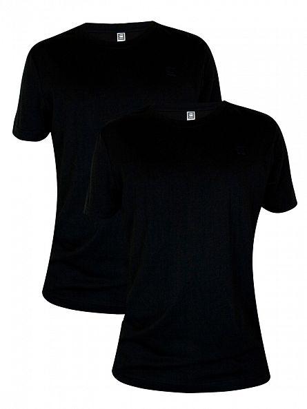 G-Star Black 2 Pack Crew T-Shirts