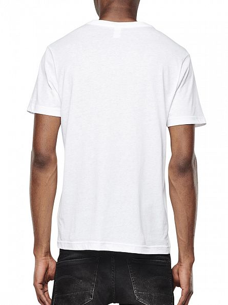 G-Star White 2 Pack Crew T-Shirts