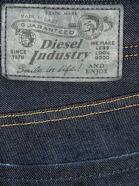 Diesel Dark Wash Larkee 806W Straight Jeans