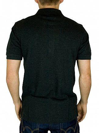 Lyle & Scott Charcoal Polo Shirt