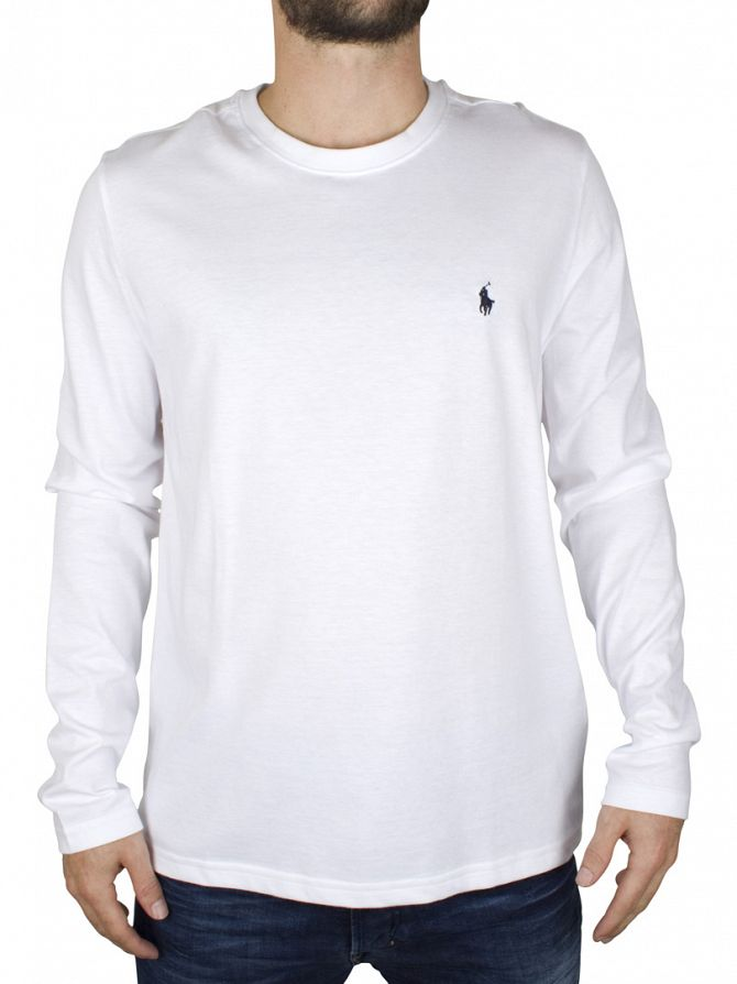 Polo Ralph Lauren White Longsleeved T-Shirt