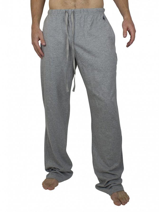 Polo Ralph Lauren Heather Grey Pyjama Jersey Bottoms