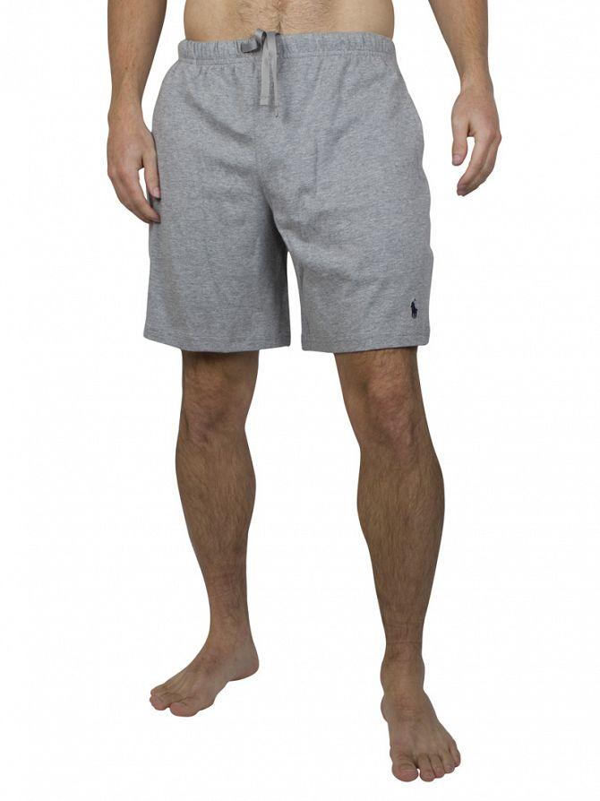 Polo Ralph Lauren Heather Grey Pyjama Sleep Shorts