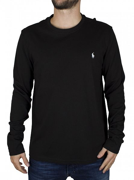 Polo Ralph Lauren Black Longsleeved T-Shirt