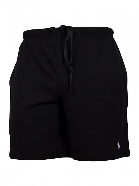 Polo Ralph Lauren Black Pyjama Sleep Shorts