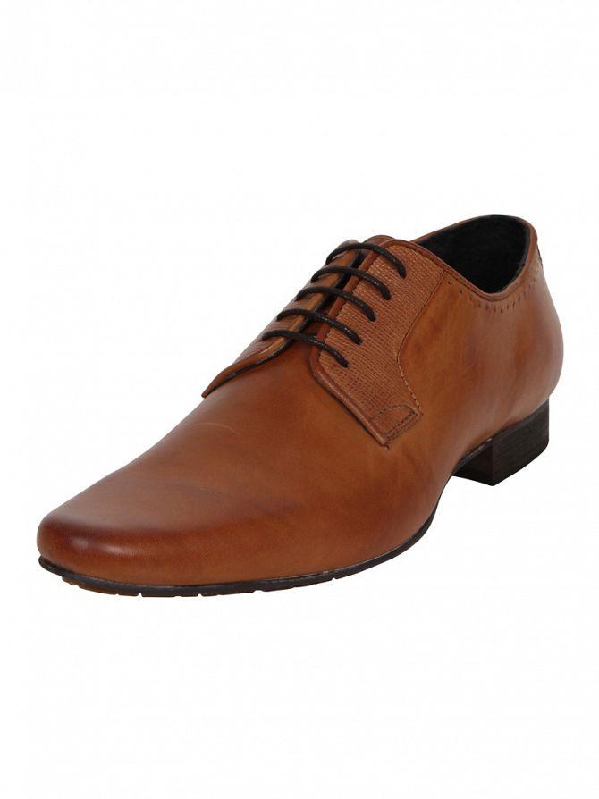 H by Hudson Grain Tan Larkin Shoes