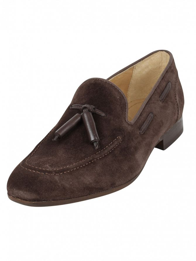 H by Hudson Brown Pierre Suede Loafers