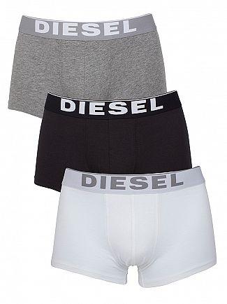Diesel White/Black/Grey Kory 3 Pack Trunks