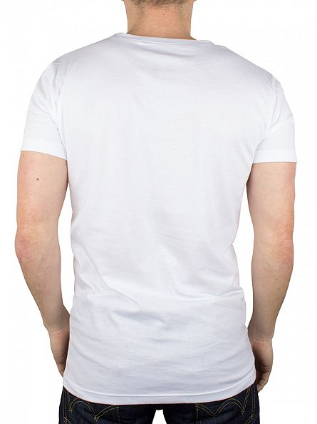 Gant White/White 2 Pack Crew Neck T-Shirts